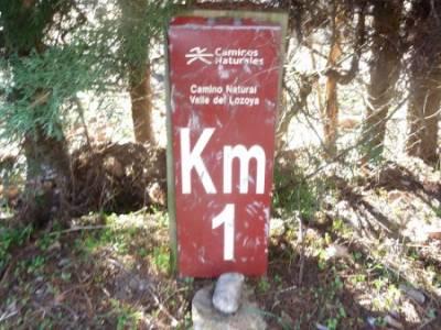 Camino Natural Valle del Lozoya; montaña palentina peguerinos cabrillas salinas de imon